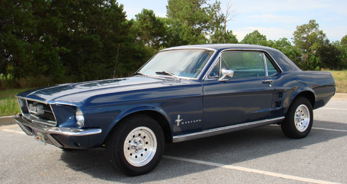 1967 Ford Mustang Late Model 302 V8 & Automatic
