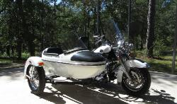 2008 Harley Davidson Road King Classic w Side Car